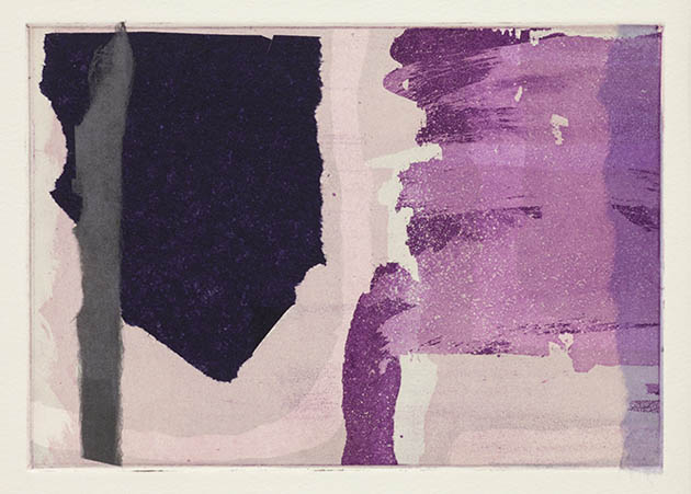 Rachel Clark original prints gallery- two plate colour etching with chine colle in an edition of one