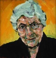 Rachel Clark portrait commissions- portrait painting of D E Clark