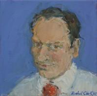Rachel Clark portrait commissions-Francois Barthelemy 2- oil painting