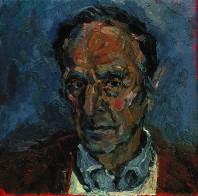 Rachel Clark portrait commissions- portrait painting of Gordon Francis 2