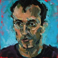 Rachel Clark portrait commissions. Portrait in oil on canvas of Julius Nelki
