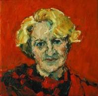 Rachel Clark portrait commissions - portrait painting of Rabbi Julia Neuberger 1