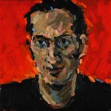Rachel Clark portrait commissions-portrait painting in oil of Phil Parker
