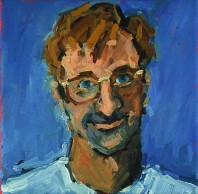 Rachel Clark portrait commissions- portrait painting of Steven Foote