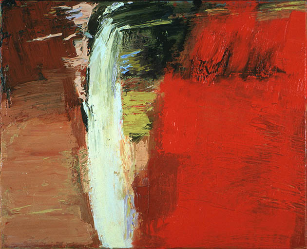 Lot's Wife, an abstract painting in oil from the series Testament on view in the Rachel Clark abstract art online gallery