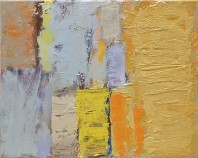 Sign I, abstract art to buy from the series Testament on view in the Rachel Clark abstract art gallery