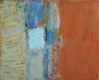 Sign II, abstract art to buy from the series Testament on view in the Rachel Clark abstract art gallery