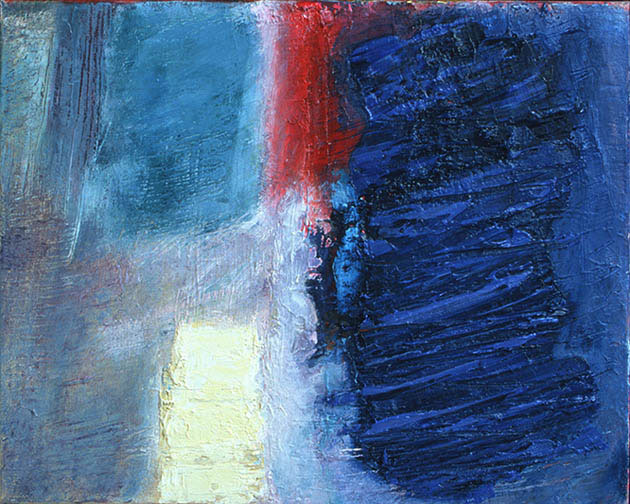Sign III, abstract art to buy from the series Testament on view in the Rachel Clark abstract art gallery