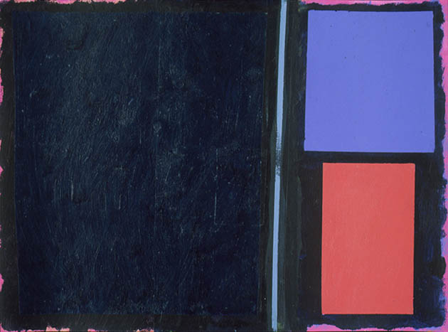 Exodus 11, an abstract painting in acrylic on view in the Rachel Clark abstract art gallery - abstract art to buy