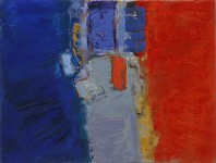 Noli Me Tangere in the abstract art collection of Francois Barthelemy and Valerie Lardy on view in the abstract art online gallery
