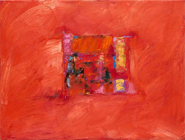 Rachel Clark abstract painting