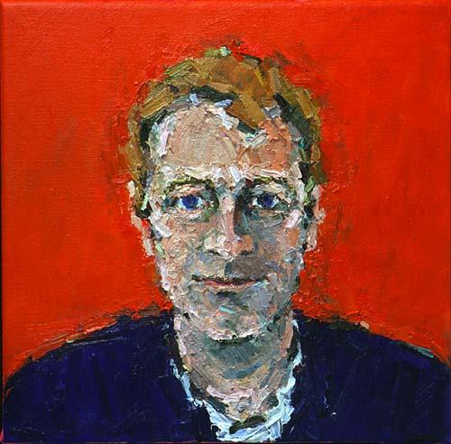 Rachel Clark portrait commissions-portrait painting of Anthony Ward