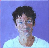 Rachel Clark portrait commissions-portrait painting of Dawn Airy 2