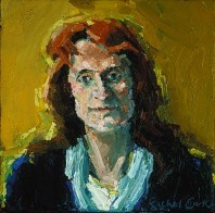 Rachel Clark portrait commissions-portrait painting of Baroness Helena Kennedy