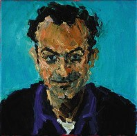 Rachel Clark portrait commissions-portrait painting in oil on canvas of Mark Thompson
