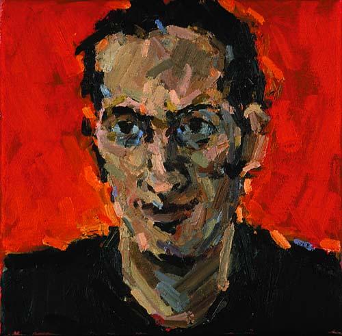 Rachel Clark portrait commissions-portrait painting of Philip Parker