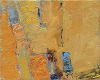 Exodus, an abstract painting in Dr Tony Druttman's contemporary abstract art collection
