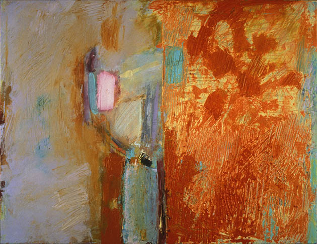Uranus, an abstract painting in Martine Henry's contemporary abstract art collection