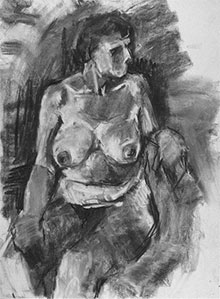 life drawing courses London at Rachel Clark's life drawing school