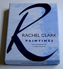 Postcard set from Rachel Clark, abstract artist, London